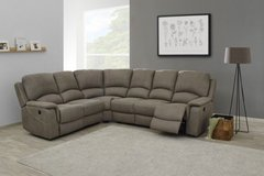 "NEW MODEL - Sectional ""Deauville"" with Recliners - Material - as shown - Includes Delivery in Spangdahlem, Germany"