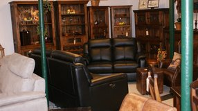 Clearance Sale leather couch set in Ramstein, Germany