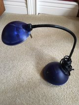 Blue Adjustable Desk Lamp in Glendale Heights, Illinois