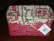 NWT fabric lined basket in St. Charles, Illinois