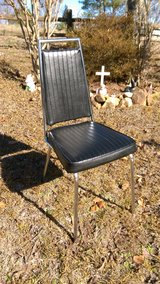 Black chair in Perry, Georgia
