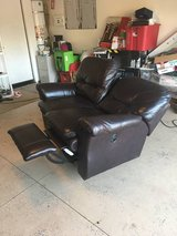 La-Z-Boy reclining [real] leather sofa/loveseat in Temecula, California