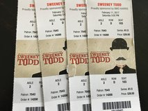 Sweeney Todd Tickets at the Paramount in Bolingbrook, Illinois