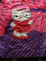 twin hello kitty bedding in Chicago, Illinois