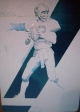 Roger Staubach Cowboys 1/1 Printing Plate Only one made in Las Cruces, New Mexico