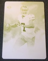 Colin Kaepernick 1/1 Yellow Printing Plate Only one in the world in Las Cruces, New Mexico