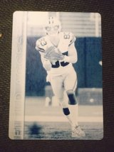 Terrance Williams Dallas Cowboys 1/1 Cyan Printing plate one of a kind collectible in Las Cruces, New Mexico