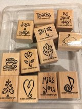 Stampin Up Year Round Cheer 2001 Stamp Set in Lockport, Illinois