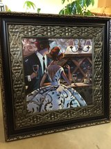 Framed Art couple 37 x 37 inches in Fort Rucker, Alabama