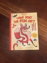 What Does the Fox Say?  - New Hardcover Children's Book by Ylvis in Oswego, Illinois