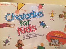 Charades for Kids Board Game in Elgin, Illinois