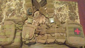condor chest rig with all pouches in Schofield Barracks, Hawaii