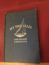 """1935 Walgreen's Employee Book - """"Set Your Sales for Bigger Earnings"""" - By Charles Walgreen in Glendale Heights, Illinois"""