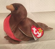 "Mom's Estate Sale - ""Early"" the red breasted Robin Beanie Baby NWT in Naperville, Illinois"