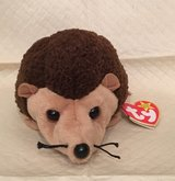 Mom's Estate Sale - Prickles the Hedgehog Beanie Baby NWT in Naperville, Illinois