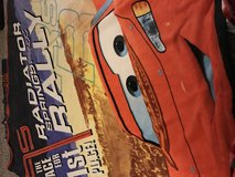 Cars blanket and matching pillow case new in Bartlett, Illinois