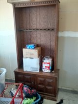 Used older gun cabinet needs a little work in 29 Palms, California