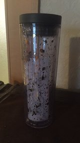 New Starbucks gold flake tumbler in Okinawa, Japan