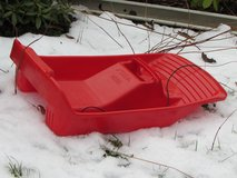 Snow Sled in Ramstein, Germany