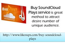 Purchase SoundCloud Plays in Anchorage, Alaska