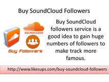 Get soundcloud followers in Anchorage, Alaska