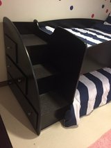 Bunk bed, twin trundle with storage drawers in Okinawa, Japan