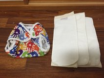 Blueberry Cloth Diaper Cover & Inserts in bookoo, US