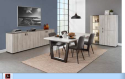 Celle - Dining Set - NEW MODEL - China or Bar Unit with Table and 4 Chairs including delivery in Grafenwoehr, GE