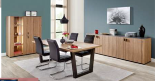Celle - Dining Set - NEW MODEL - China or Bar Unit with Table and 4 Chairs including delivery. in Stuttgart, GE