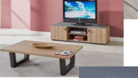 Celle Coffee Table and TV Stand including Delivery - available in 2 colors in Ansbach, Germany