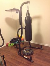 Heavy bag stand combo with heavy bag and anchor in Beaufort, South Carolina