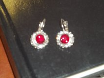 Ruby and like Earrings in Alamogordo, New Mexico