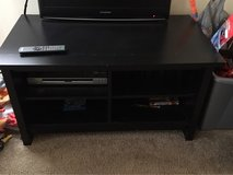 black wooden tv stand in Elgin, Illinois