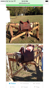 Peruvian Saddle with Accessories in Fort Polk, Louisiana