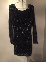 Navy blue/lace formal dress in Camp Lejeune, North Carolina