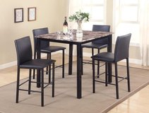 NEW! MARBLE 5PC DINING SET in Vista, California