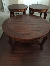 Ashley 3 Piece Studded  Table Set in Hemet, California