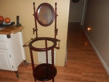 VINTAGE WOODEN WASH BASIN STAND in Vacaville, California