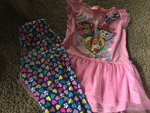 Paw patrol outfit size 6 in Vacaville, California