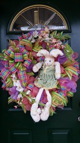 Easter/Spring Wreath w/ Bunny in Naperville, Illinois