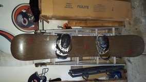 K2 HC161 snowboard and bindings in Plainfield, Illinois