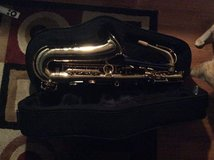 Saxophone with case in Fort Belvoir, Virginia