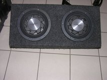 Subwoofer and Amp in Ramstein, Germany