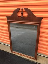Antique Mahogany Duncan Phyfe Mirror in Cherry Point, North Carolina