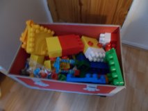 REDUCED - Large Chest of Mega Bloks in Lakenheath, UK