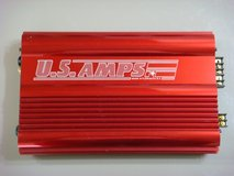 US Amps USA-150 (Candy Apple Red) Car Amp in Okinawa, Japan