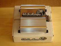 US Amps Xterminator 200X (NIB Chrome) Car Amplifier in Okinawa, Japan