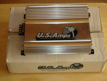 US Amps USA-400 (LNIB Chrome) Car Amplifier in Okinawa, Japan