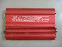 US Amps USA-425 (Red & Black) Car Amplifiers in Okinawa, Japan