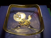 Georges Briard Signed Silver & Glass Candy Dish in Kissimmee, Florida